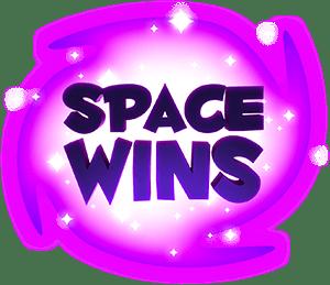 space wins casino logo
